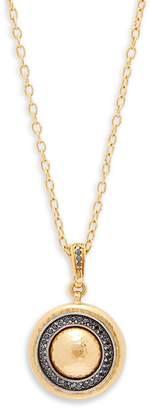 Gurhan Women's Diamond & 24K Yellow Gold Pendant Necklace
