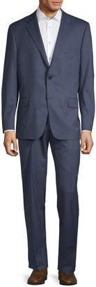 Hickey Freeman 2-Piece Classic Fit Textured Suit