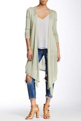 Vertigo Crochet Long Sleeve Cardigan