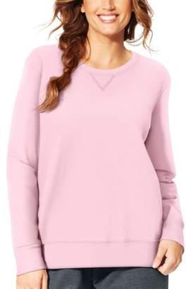 Just My Size Women's Plus-Size Fleece Sweatshirt