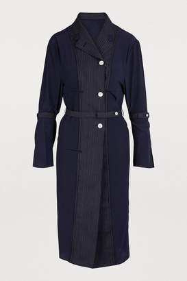 Thom Browne Wool and silk coat
