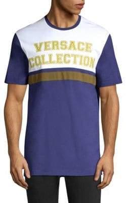 Versace Retro Colorblock Athletic Tee