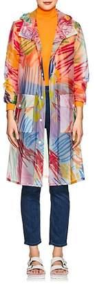 Mira Mikati Women's Scribble-Print Raincoat
