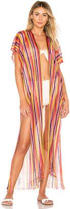 Luli Fama El Moro Fringe Kimono