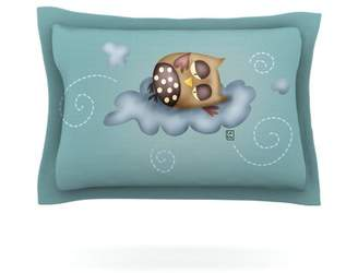 KESS InHouse Sleepy Guardian by Carina Povarchik Featherweight Pillow Sham KESS InHouse
