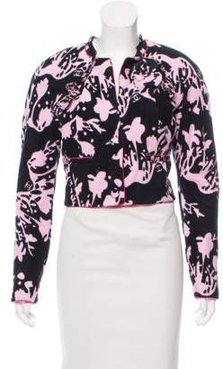 Chanel Printed Terry Cloth Jacket