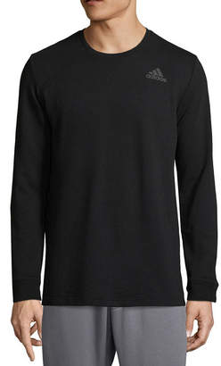 adidas Long Sleeve Crew Neck T-Shirt
