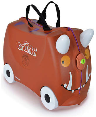 Trunki Gruffalo Ride-On Suitcase - Brown
