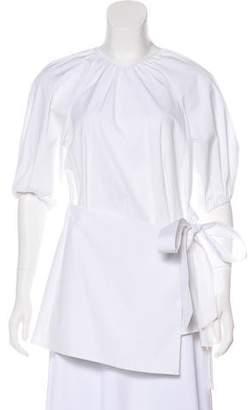 Lela Rose Long Sleeve Knit Top