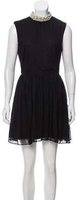 Rachel Zoe Mini Embellished Dress
