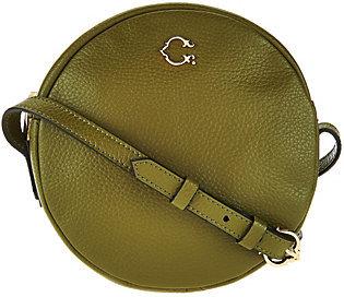 C. WonderAs Is C. Wonder Round Canteen Leather Crossbody Handbag