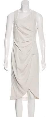 Halston Embellished Asymmetrical Dress Embellished Asymmetrical Dress
