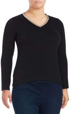Joan Vass Casual Sweater