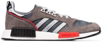 adidas Never Made multicoloured Boston Super R1 suede sneakers