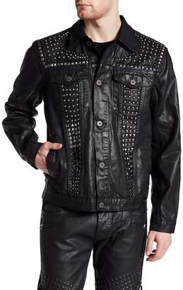 Cult Of Individuality Grunge Denim Jacket $298 thestylecure.com
