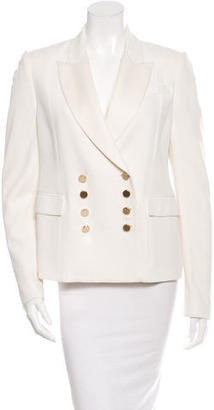 Mulberry Double Breasted Long Sleeve Blazer $100 thestylecure.com