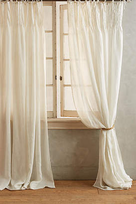 Anthropologie Pinch-Pleat Curtain
