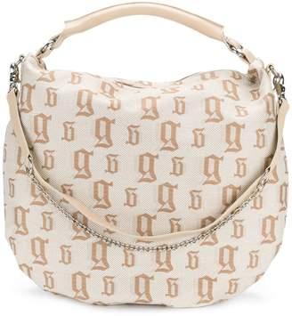 John Galliano monogram shoulder bag