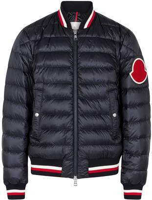 1081827e4 Moncler Deltour Quilted Shell Bomber Jacket