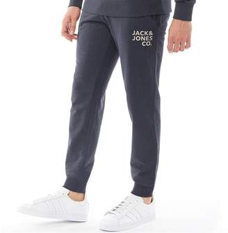 Jack and Jones Originals Mens Inner Comfort Fit Sweat Pants Total Eclipse