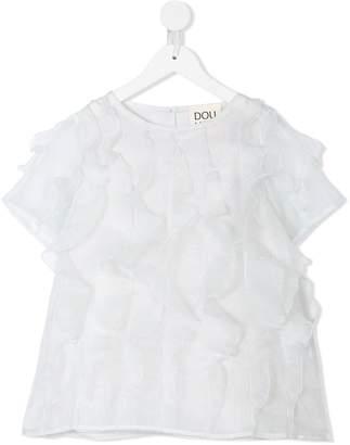 Douuod Kids ruffled blouse