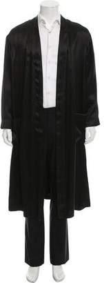 Haider Ackermann Satin Lightweight Coat