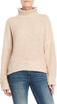 Cotton Candy Mock Neck Sweater