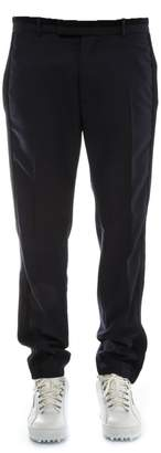 Diesel Black Gold Blue Wool Pants