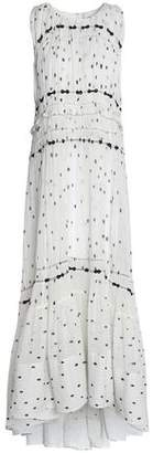 3.1 Phillip Lim Tiered Printed Crepe Gown