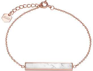 Cluse Rectangular Bar Chain Bracelet