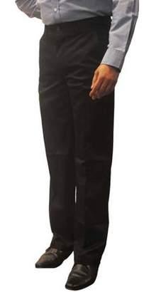 George Men's Premium Flat Front Khaki Pants
