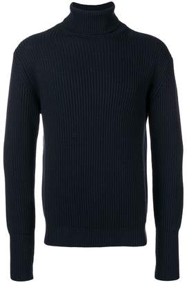 Maison Flaneur turtleneck ribbed jumper