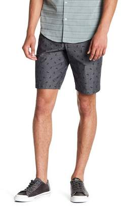 Original Penguin Print Straight Fit Shorts