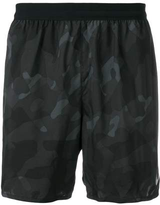 Nike camouflage swim shorts