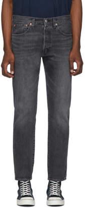 Levi's Levis Grey 501 Slim Taper Jeans
