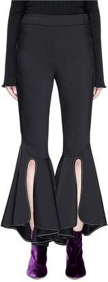 Ellery 'Ox Bow' cropped flare suiting pants