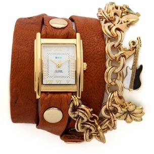 La Mer Lucky Charms Wrap Watch