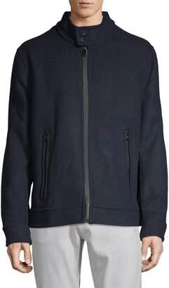 Andrew Marc Long Sleeve Moto Jacket