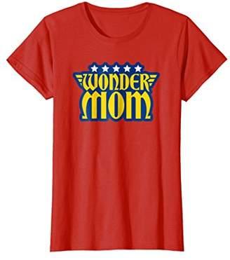 Womens Wonder Mom Graphic Tee