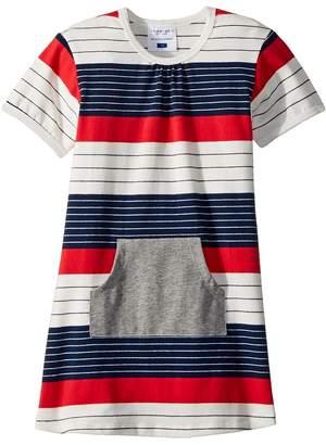 Toobydoo Stars and Stripes Pocket Dress Girl's Dress