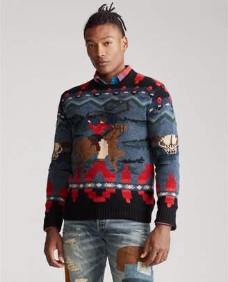 Ralph Lauren Cowboy Hand-Knit Sweater