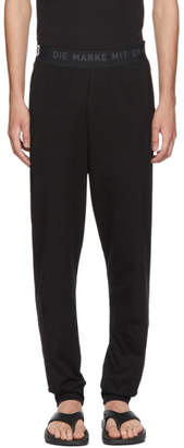 Y-3 Black Long John Sweatpants