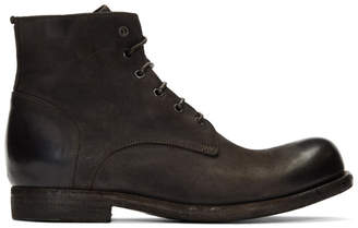 Officine Creative Brown Bubble 3 Boots