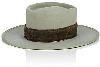 Nick Fouquet Women's The Eclipse Fur Felt Gaucho Hat - Olive