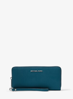 MICHAEL Michael Kors Jet Set Travel Saffiano Leather Continental Wallet