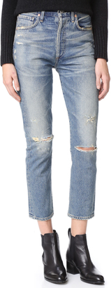 Citizens of Humanity Dree High Rise Crop Jeans $288 thestylecure.com