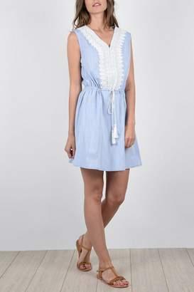 Molly Bracken Embroidered Dress