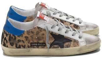 Golden Goose Sneakers Superstar Leopard