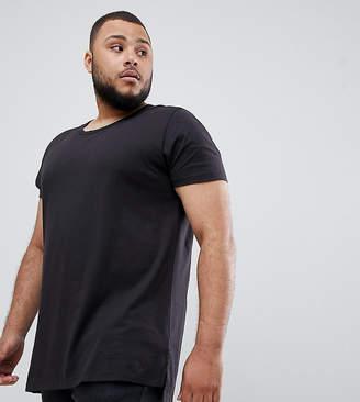Lee plus plain t-shirt black