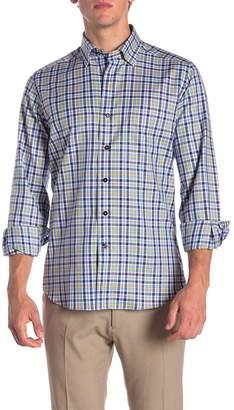 David Donahue Sport Casual Fit Checkered Shirt